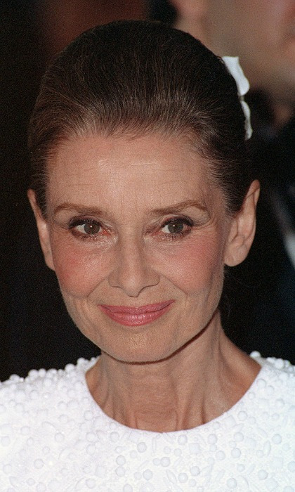 """And the beauty of a woman, with passing years only grows!"" - Audrey Hepburn