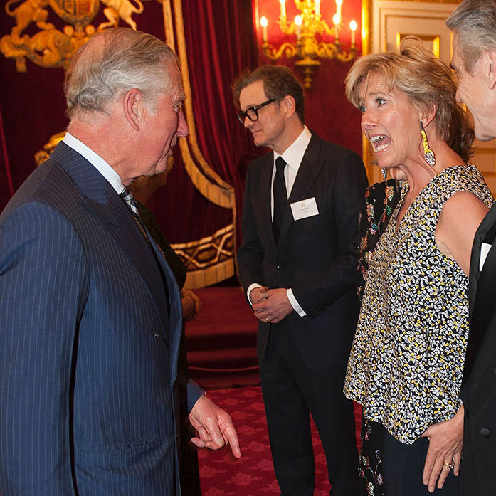"Prince Charles had a friendly conversation with <a href=""http://us.hellomagazine.com/tags/1/emma-thompson/""><strong>Emma Thompson</strong></a> during the reception for British Oscar winners in central London.