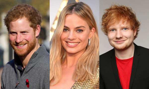 "A royal blunder. Actress Margot Robbie once confused an eyeglass-wearing Prince Harry for Ed Sheeran at a housewarming party. ""When I saw him in those glasses, I was like, 'Oh my god, I didn't know Ed Sheeran was at the party!'"" she recalled of the mistake. ""He got really offended. He was like 'Shut up.'""