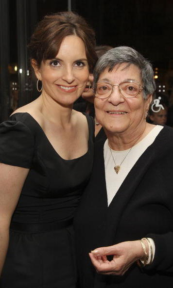 "<a href=""http://us.hellomagazine.com/tags/1/tina-fey""><strong>Tina Fery</a> and her mother Zenobia Xenakes:</strong>