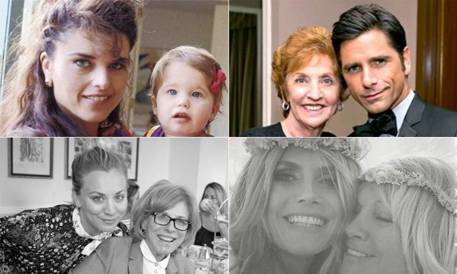 Although we love them all year round, it´s nice to have a day to celebrate how great our moms are! Like many of us, the stars have taken to their Instagram pages to say thank you to their fantastic moms.