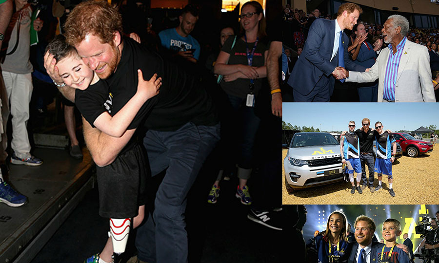 Prince Harry had a whirlwind trip to Orlando, Florida for the 2016 Invictus Games. Here is a look at all of Harry's most touching moments. ​