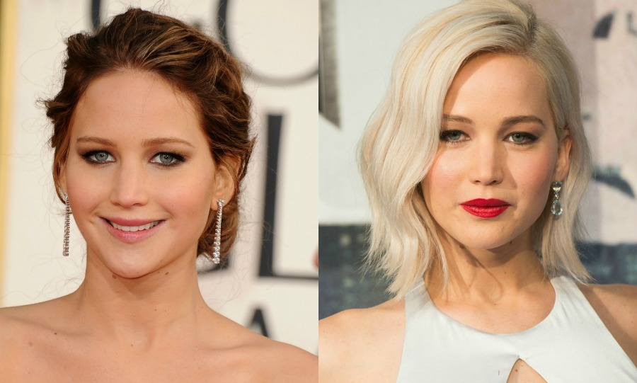 <b>Jennifer Lawrence</b> went from dirty blond to platinum, for some major old Hollywood glam.