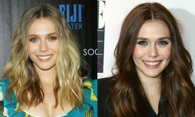 <b>Elizabeth Olsen</b> looks great with both blonde and brunette hair, both with her trademark Olsen sister waves. 