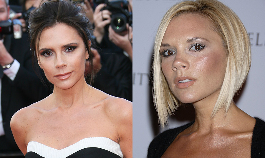 <b>Victoria Beckham</b> spiced up her life by going from super dark to super blonde and back again. 