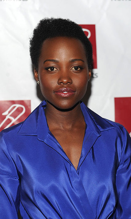 <b>Lupita Nyong'o</b> was as radiant as ever at the Annual New Dramatists Luncheon, opting for a hint of lipgloss and eyeliner for laidback glamour.