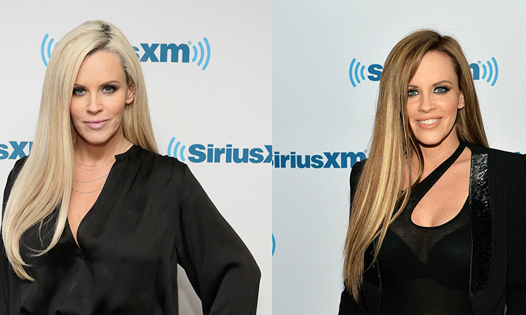 <b>Jenny McCarthy</b> is famously a blonde bombshell, but she's also tried out brunette!