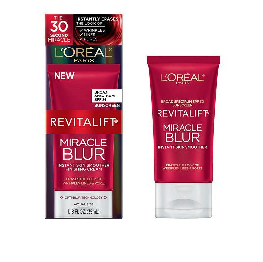 <b>L'Oreal Paris RevitaLift Miracle Blur, $24.99 at Walgreens.com</b>