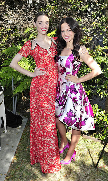 May 22: Blog about it! Jaime King helped her friend and <i>Pretty Little Liars</i> star Tammin Sursok celebrate the launch of her new interactive blog Bottle + Heels in L.A. 
