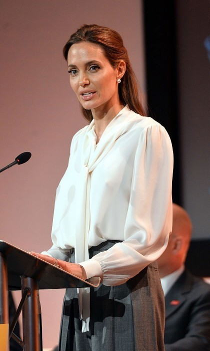 angelina jolie is heading to college as a professor