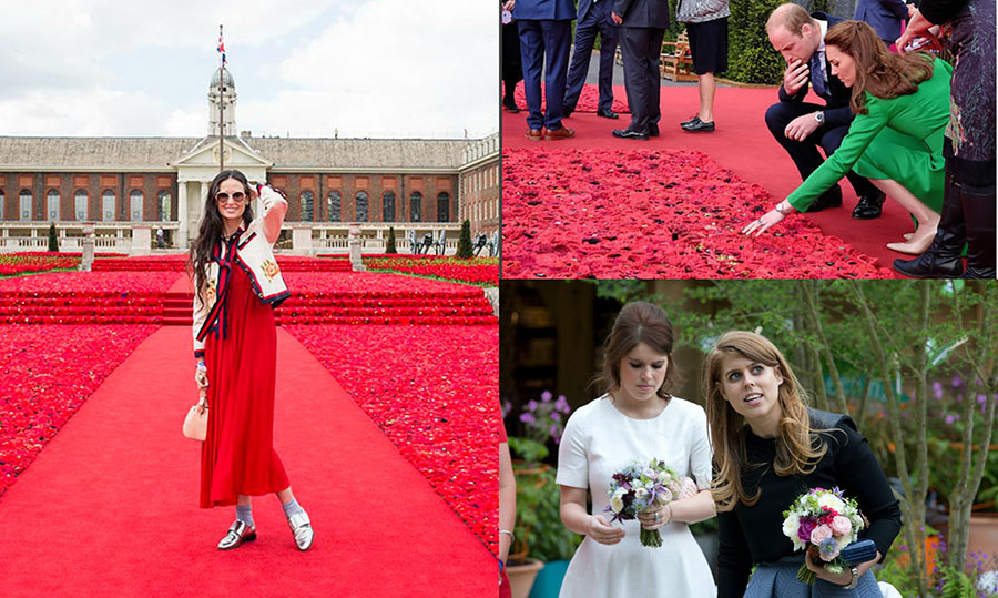 Royal flowers in bloom! The royal family and a few other big names kicked off the start of the summer social season at the Chelsea Flower Show at the Royal Hospital in London. Here is a look at all of the colorful moments from the event. 