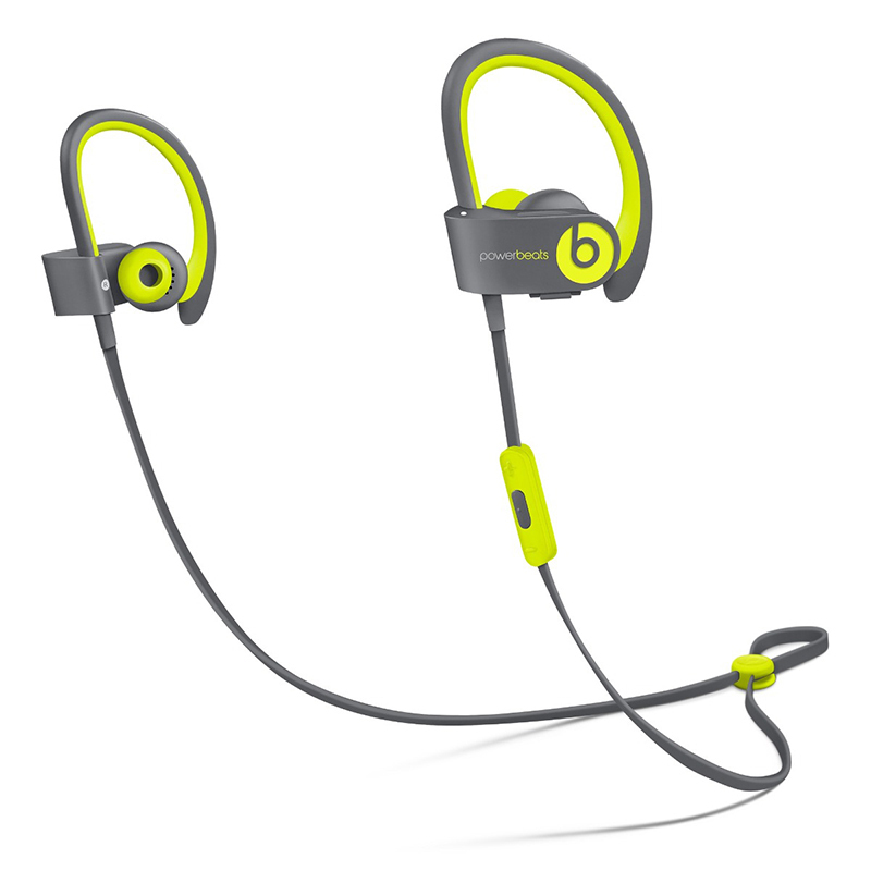 Beats Powerbeats 2 Wireless In-Ear Headphones Active Collection in Yellow, $199.95, apple.com