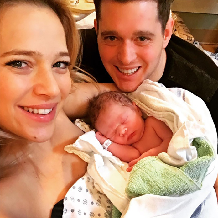 Michael Bublé and his wife Luisana Lopilato added a fourth member to their family with the birth of their son Elias. The couple welcomed the little boy on January 22. Elias joins big brother Noah, 2.