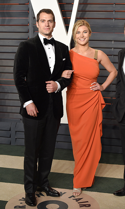 <b>Henry Cavill and Tara King</b>