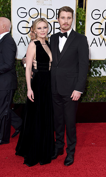 <b>Kirsten Dunst and Garrett Hedlund</b>