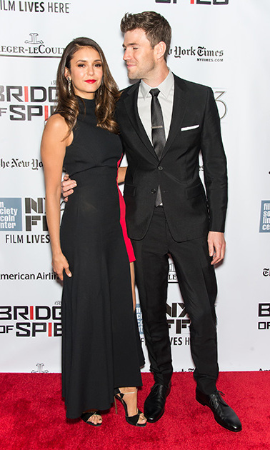 <b>Nina Dobrev and Austin Stowell</b>