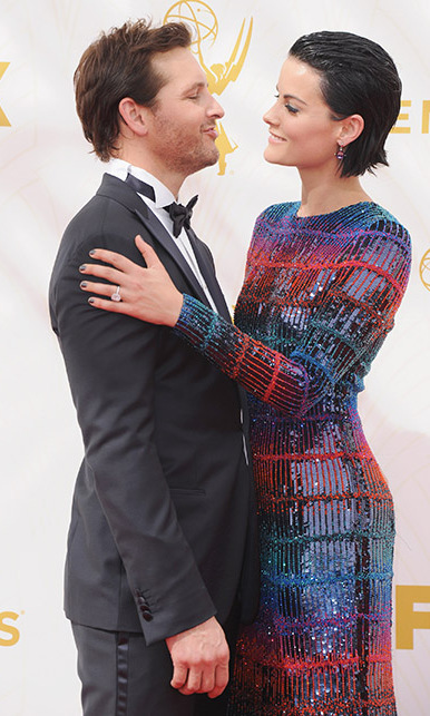 <b>Jaimie Alexander and Peter Facinelli</b>