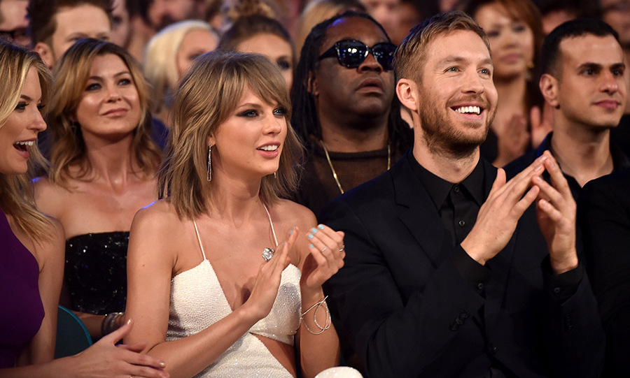 <b>Taylor Swift and Calvin Harris</b>