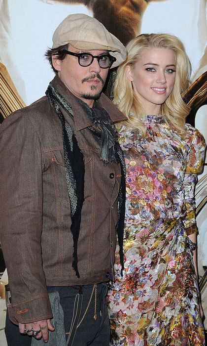 "When their film was released two years later, Amber told Collider in 2011, ""I got along with [Johnny], splendidly."" She added, ""He's charming and wonderful to work with. He's a dream.""  