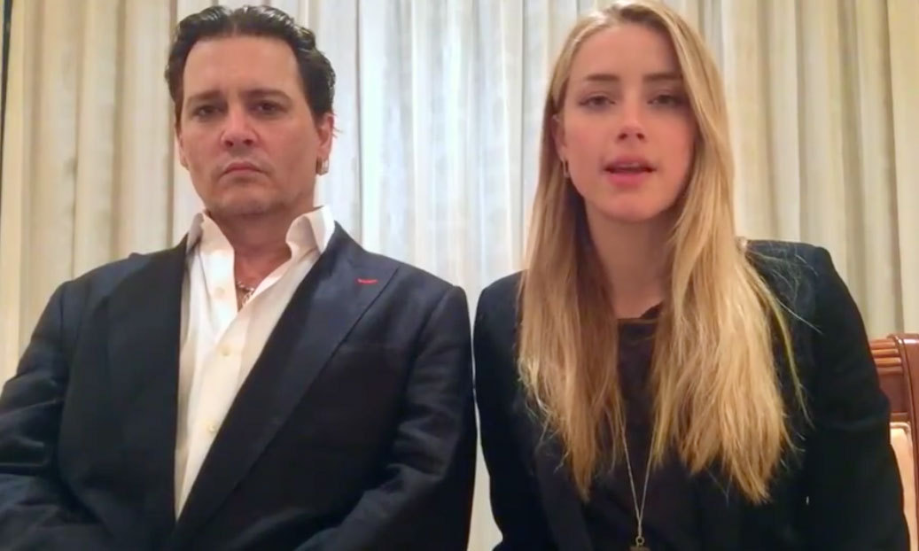 In April of 2016, Johnny and Amber appeared in a video issuing an apology to the Queensland court after the actress pleaded guilty to illegally bringing the couple's dogs into Australia the year prior.