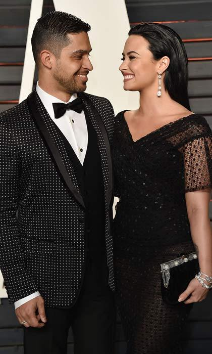 <b>Wilmer Valderrama and Demi Lovato</b>