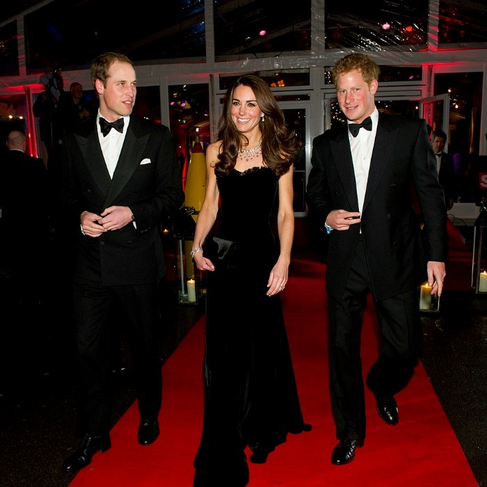 The trio dazzled on the red carpet at the 2011 Sun Military Awards at Imperial War Museum in London.