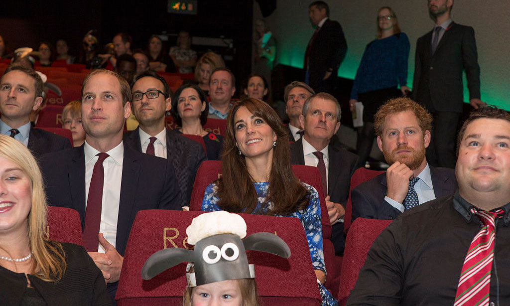 Theater buddies. The royals attentively listened to a meeting of the Charities Forum at BAFTA in 2015.