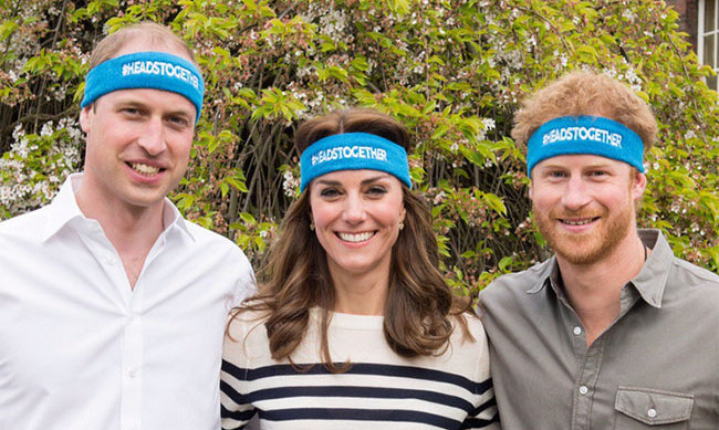 The Duke and Duchess of Cambridge along with Prince Harry put their heads together for a fun video for their new charity campaign, Heads Together, in which they spoke of the importance of ending the stigma surrounding mental health.