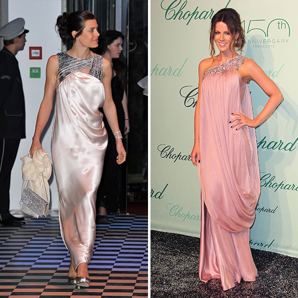 <b>Charlotte Casiraghi and Kate Beckinsale</B>