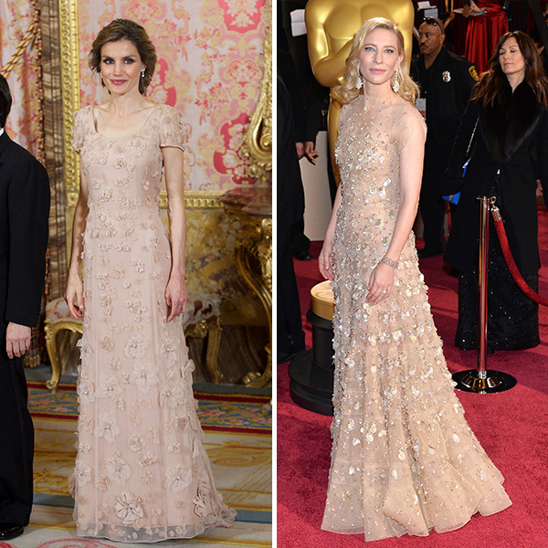<b>Queen Letizia of Spain and Cate Blanchett</B>