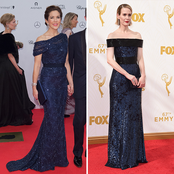 <b>Princess Mary of Denmark and Sarah Paulson</B>