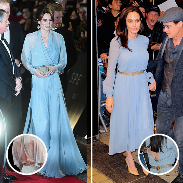 <b>The Duchess of Cambridge and Angelina Jolie</B>
