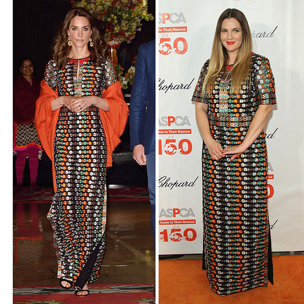 <b>Kate Middleton and Drew Barrymore </B>