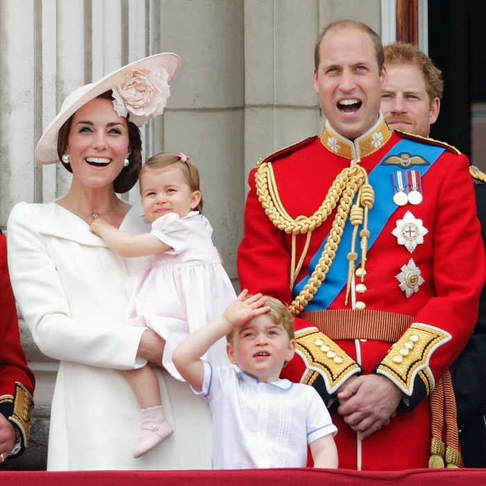 Princess Charlotte made her balcony debut alongside her mom Kate Middleton, dad Prince William and big brother Prince George during the 2016 Trooping the Colour.