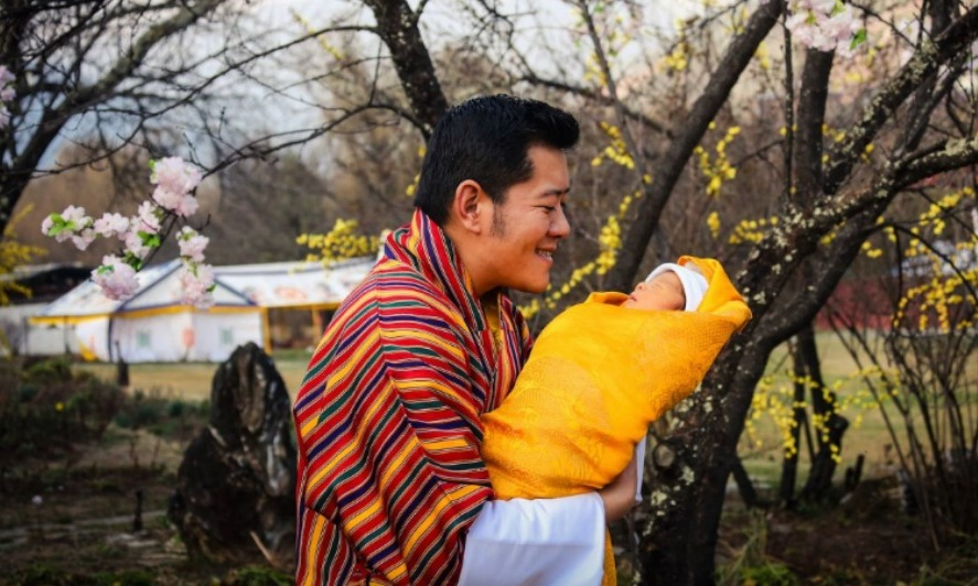 <b>King Jigme Khesar Namgyel Wangchuck</b><br />