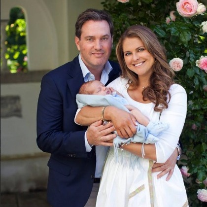 Nicolas rested in his mother's arms during a photo shoot outside of their home in 2015. 