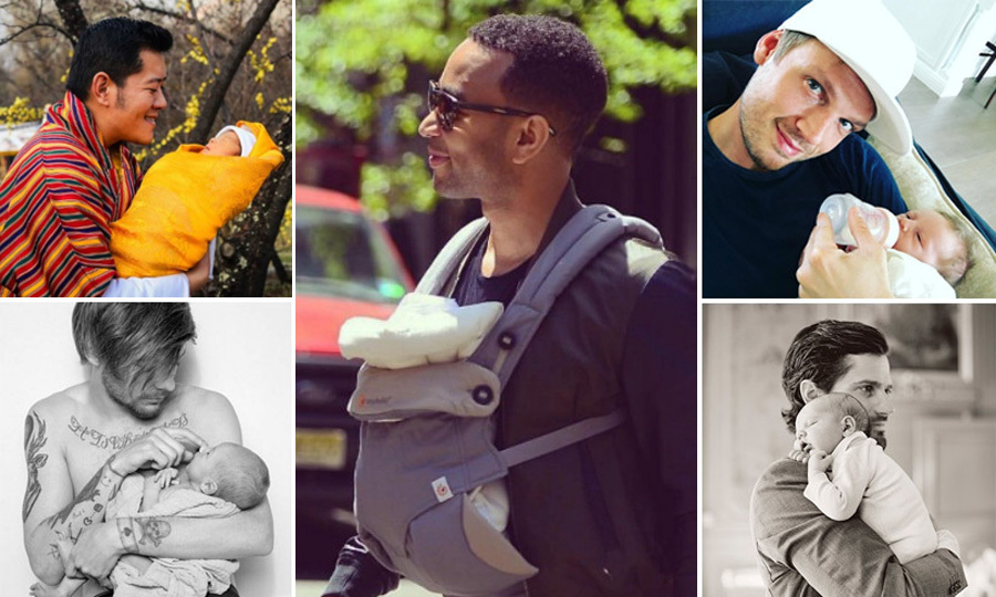 From special cuddles to major milestones, these dads are experiencing it all for the first time ever. Take a look at the celebrities who are celebrating their first Father's Day in 2016.