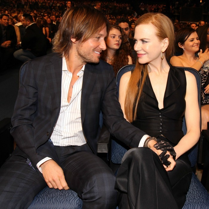 Relationship Advice From Keith Urban And Nicole Kidman: Celebrity Couples: Nicole Kidman And Keith Urban Red