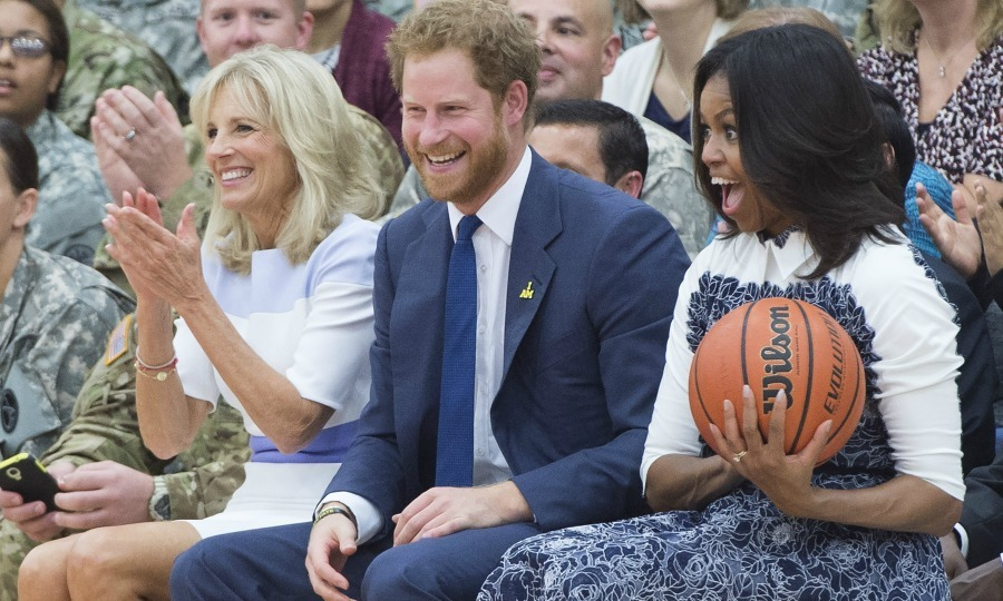 <b>She hangs out with Prince Harry</b>