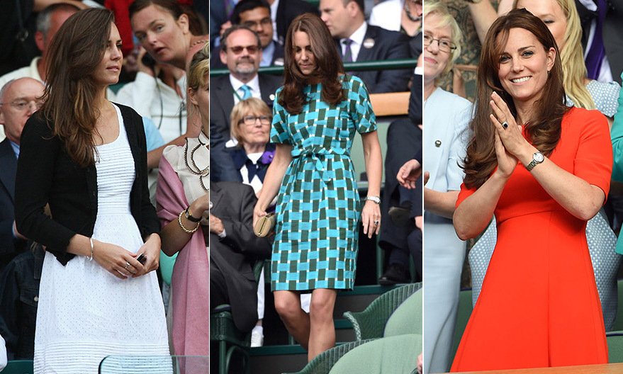 Kate Middleton has long been a fan of the oldest tennis tournament in the world – and as she is now the patron of Wimbledon, here's a look at all of the outfits she's worn to the matches over the years. 