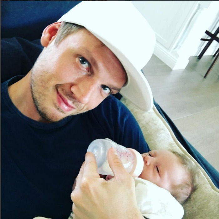 Nick Carter and his wife Lauren welcomed their little backstreet baby, Odin Carter into the world on April 19 at their Hidden Hills, California home. 
