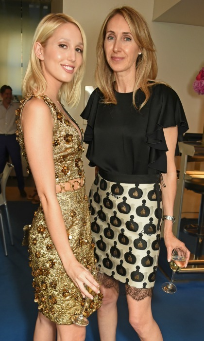 "Always on trend. <a href=""http://us.hellomagazine.com/tags/1/princess-olympia/""><strong>Princess Olympia</strong></a> and Karina de Brabant Brignone attended the private dinner celebration hosted by Michael Kors in honor of the new Regent street flagship store in London. 