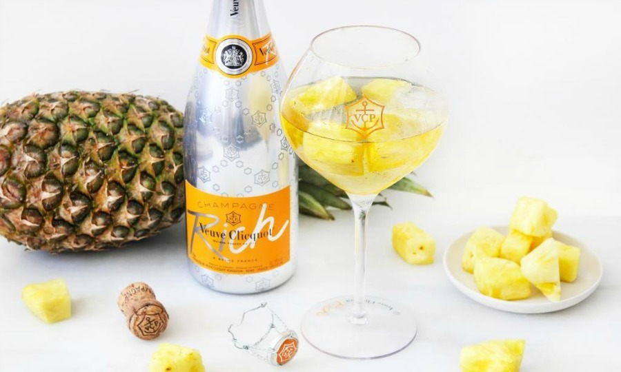 <b>Veuve Clicquot Rich Pineapple Cocktail</b>