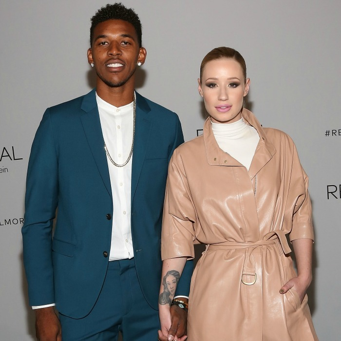 <b>Nick Young and Iggy Azalea</b>