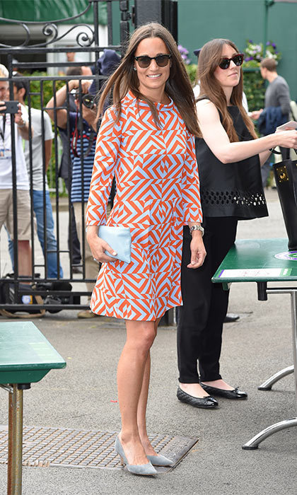 Pippa Middleton Aces 1960s Style In 460 Tabitha Webb