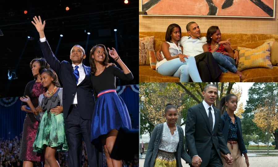 "A look at <a href=""http://us.hellomagazine.com/tags/1/barack-obama/""><strong>Barack Obama</strong></a>, <a href=""http://us.hellomagazine.com/tags/1/malia-obama/""><strong>Malia Obama</strong></a> and <a href=""http://us.hellomagazine.com/tags/1/sasha-obama/""><strong>Sasha Obama's</strong></a> best father-daughter moments.  