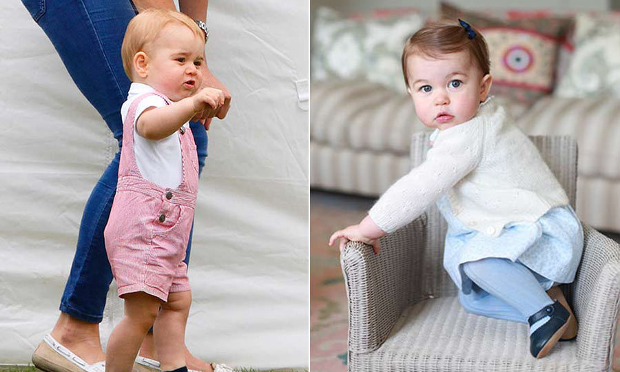 Royal hand-me-downs! Princess Charlotte spotted wearing Prince ...
