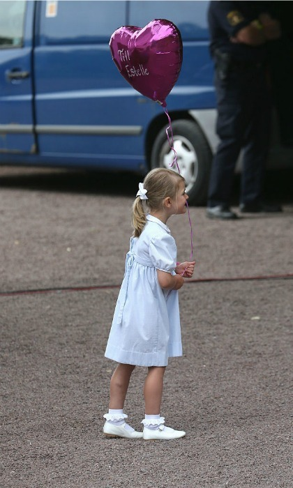 July 2016: Just a little princess and her balloon.