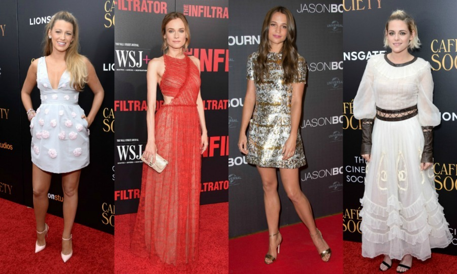 Red Carpet Style Of The Week Blake Lively Kristen