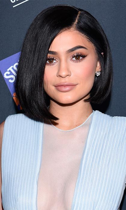"Keep it sleek like <a href=""http://us.hellomagazine.com/tags/1/kylie-jenner"" target=""_blank""><strong>Kylie Jenner</strong></a>. Straighten the hair and curl the bottom part inwards to complete the chic look.